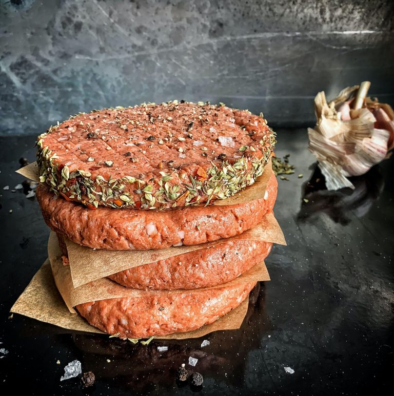 Smoky Chipotle Burger Patties